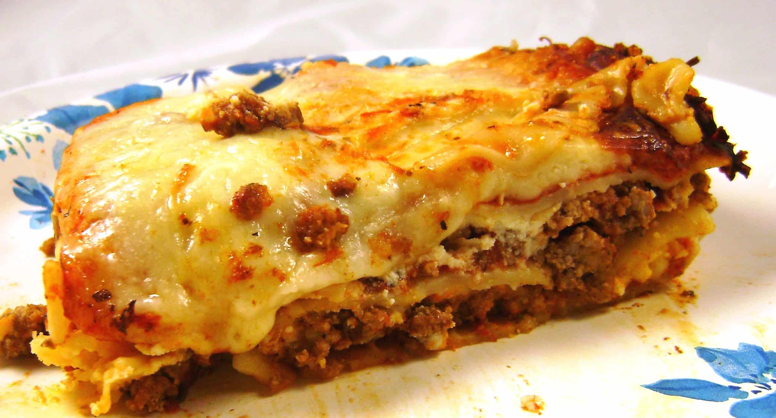 Healthy Meat Lasagna | DietRecipesReview.com